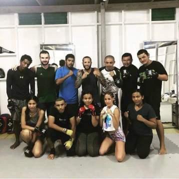 May Thai Class with Josh Mercado